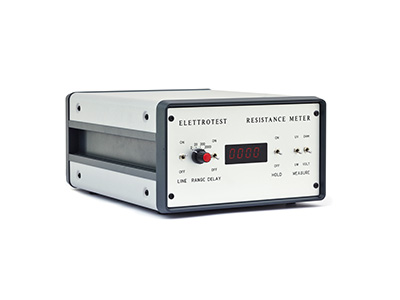 Single channel resistance meter